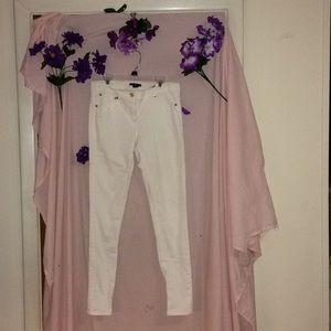 H&M white jeans size 6